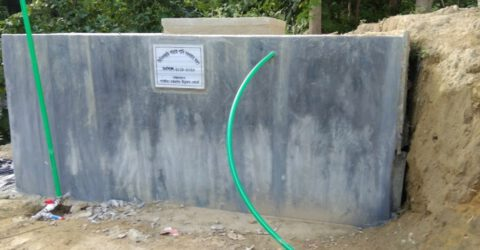 পার্বত্য চট্টগ্রাম উন্নয়ন বোর্ডের ২০ লক্ষ টাকার প্রকল্প জলে
