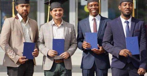 কবি নজরুল বিশ্ববিদ্যালয়ের সাবেক শিক্ষার্থীর ইউরোপে উচ্চতর ডিগ্রী অর্জন